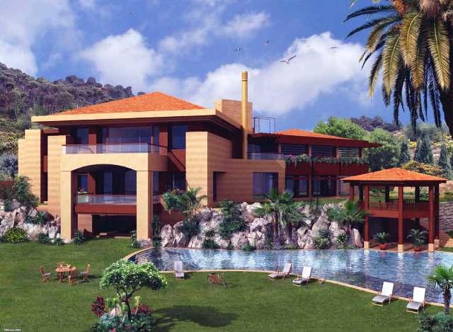 Farra villa chemlan lebanon - Libanese villa ...